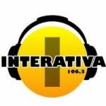 Logo da emissora Rádio Interativa 106.3  FM