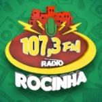 Logo da emissora Rádio Rocinha FM 107.3