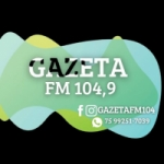 Logo da emissora Radio Gazeta 104.9 FM