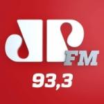 Logo da emissora Rádio Jovempan 93.3 FM
