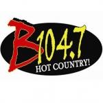 Logo da emissora KXBZ 104.7 FM