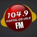 Logo da emissora Rádio Portal do Vale 104.9 FM
