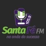 Logo da emissora Rádio Santa Fé 105.9 FM