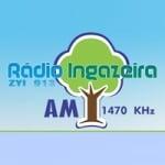 Logo da emissora Rádio Ingazeira 1470 AM