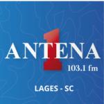 Logo da emissora Rádio Antena 1 103.1 FM
