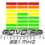 Logo da emissora Rádio Povo FM