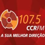 Logo da emissora Radio CCR FM 107.5 Nova Dutra