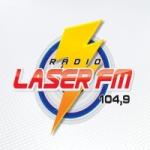 Logo da emissora Rádio Laser 104.9 FM