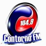Logo da emissora Rádio Contorno 104.9 FM