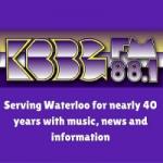 Logo da emissora Radio KBBG 88.1 FM