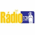Logo da emissora Web Rádio 13 de Maio