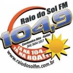 Logo da emissora Rádio Raio de Sol 104.9 FM
