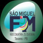 Logo da emissora Rádio São Miguel 87.9 FM
