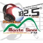 Logo da emissora Rádio Monte Sinai 102.5 FM