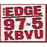 Logo da emissora Radio KBVU 97.5The Edge FM