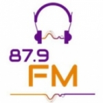 Logo da emissora Rádio Estância 87.9 FM