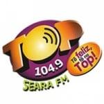 Logo da emissora Rádio Top Seara 104.9 FM