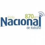 Logo da emissora Rádio Nacional 870 AM
