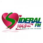 Logo da emissora Rádio Sideral 104.9 FM