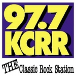 Logo da emissora Radio KCRR 97.7 FM