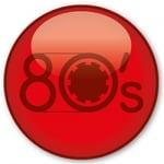 Logo da emissora Rádio Jovem Pan Web 80