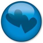 Logo da emissora Rádio Jovempan Love