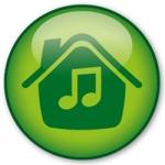 Logo da emissora Rádio Jovem Pan Web House By Gabriel Rocca
