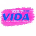 Logo da emissora Rádio Vida 105.7 FM