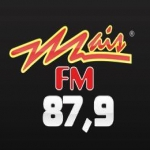 Logo da emissora Rádio Mais 104 FM