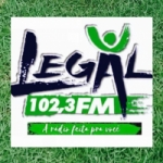 Logo da emissora Rádio Legal 102.3 FM