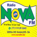 Logo da emissora Radio Nova 104.9 FM