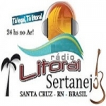 Logo da emissora Rádio Litoral Sertanejo