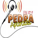 Logo da emissora Rádio Pedra Aparada 87.9 FM