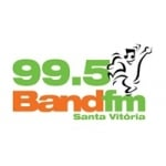 Logo da emissora Rádio Band 99.5 FM
