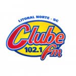Logo da emissora Rádio Clube 102.1 FM