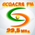 Logo da emissora Rádio Eco Acre 99.5 FM