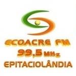 Logo da emissora Rádio Ecoacre 99.5 FM