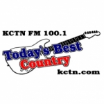Logo da emissora KCTN 100.1 FM