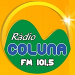Logo da emissora Rádio Coluna 101.5 FM
