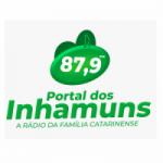 Logo da emissora Rádio Portal dos Inhamuns 87.9 FM