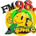 Logo da emissora Rádio Sorriso na Net