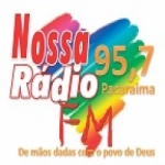 Logo da emissora Rádio Pacaraima FM
