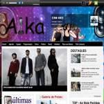 Logo da emissora Rádio Aika