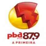 Logo da emissora Rádio PBA 87.9 FM