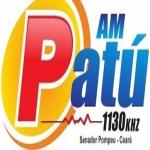 Logo da emissora Rádio Patu 1130 AM