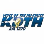 Logo da emissora Radio KDTH 1370 AM