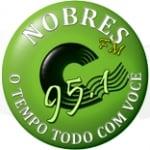 Logo da emissora Rádio Nobres 95.1 FM