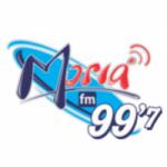 Logo da emissora Rádio Moriá 99.7 FM