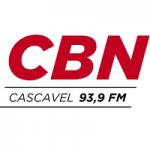 Logo da emissora Rádio CBN 93.9 FM