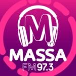 Logo da emissora Rádio Massa 97.3 FM